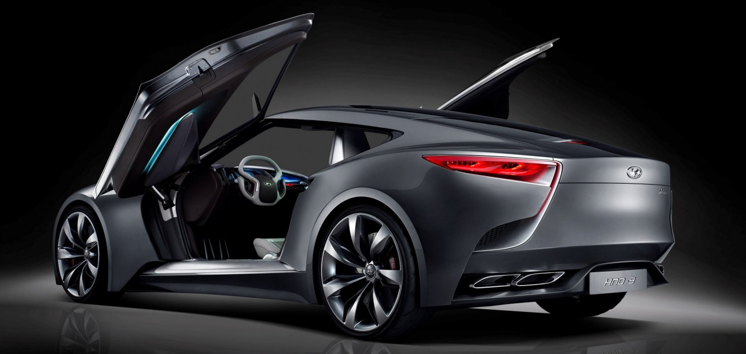 HYUNDAI Coupe Designs i-ONIQ and HND-9 12