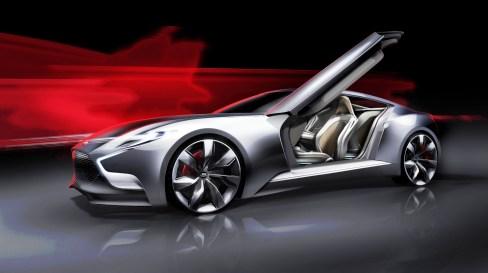HYUNDAI Coupe Designs i-ONIQ and HND-9 8