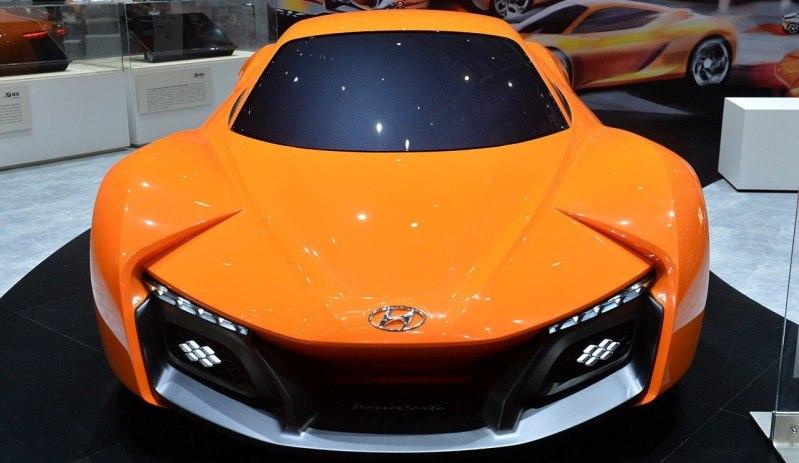 Hyundai PassoCorto Sports Car Is Torino Design Vision Come to Life!  Innovative Folded Surfacing + Hidden Cameras Replace Rear Glass 1