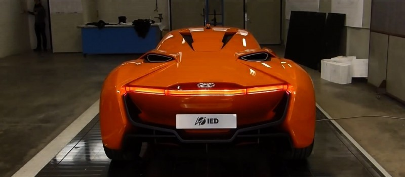 Hyundai PassoCorto Sports Car Is Torino Design Vision Come to Life!  Innovative Folded Surfacing + Hidden Cameras Replace Rear Glass 33