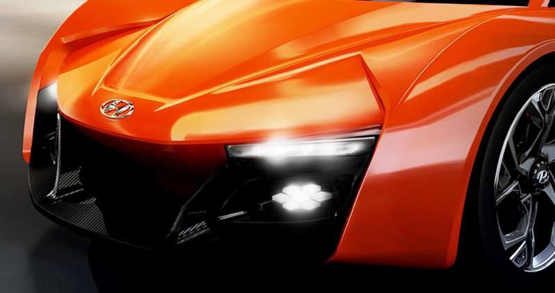 Hyundai PassoCorto Sports Car Is Torino Design Vision Come to Life!  Innovative Folded Surfacing + Hidden Cameras Replace Rear Glass 4