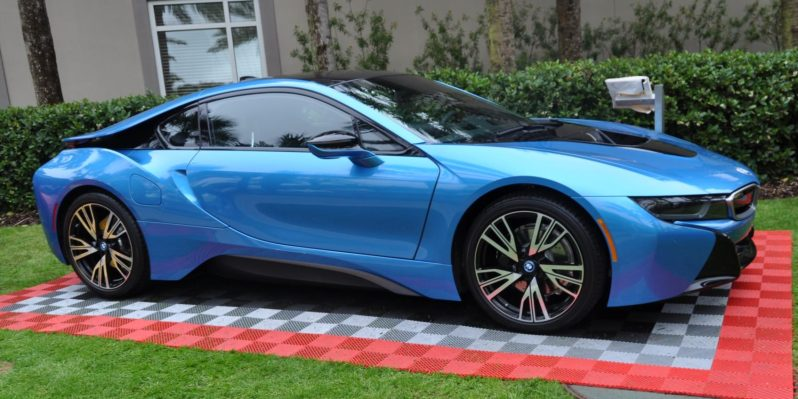 Inimitable Future-Tech 2015 BMW i8 Feeling Chummy with Concept M4 and 1980 BMW M1 -- Fleming Flashbacks 3