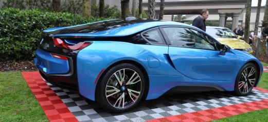 Inimitable Future-Tech 2015 BMW i8 Feeling Chummy with Concept M4 and 1980 BMW M1 -- Fleming Flashbacks 9