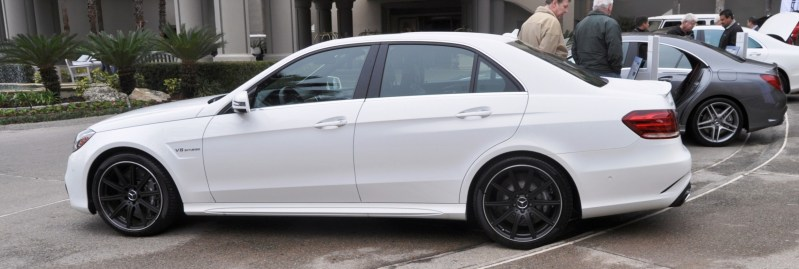 The White Knight -- 2014 Mercedes-Benz E63 AMG 4Matic S-Model On Camera + 21 All-New Photos 12