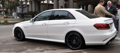The White Knight -- 2014 Mercedes-Benz E63 AMG 4Matic S-Model On Camera + 21 All-New Photos 14