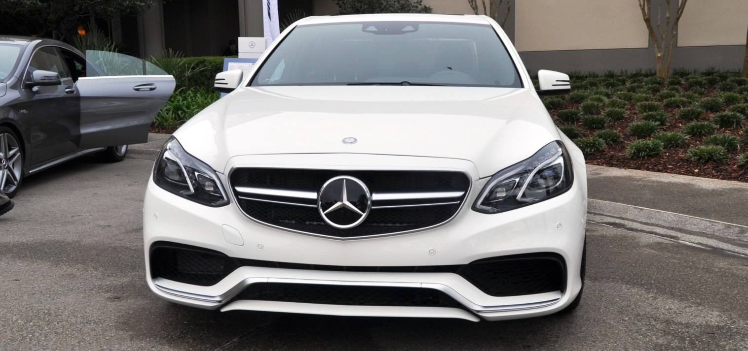 The White Knight -- 2014 Mercedes-Benz E63 AMG 4Matic S-Model On Camera + 21 All-New Photos 4