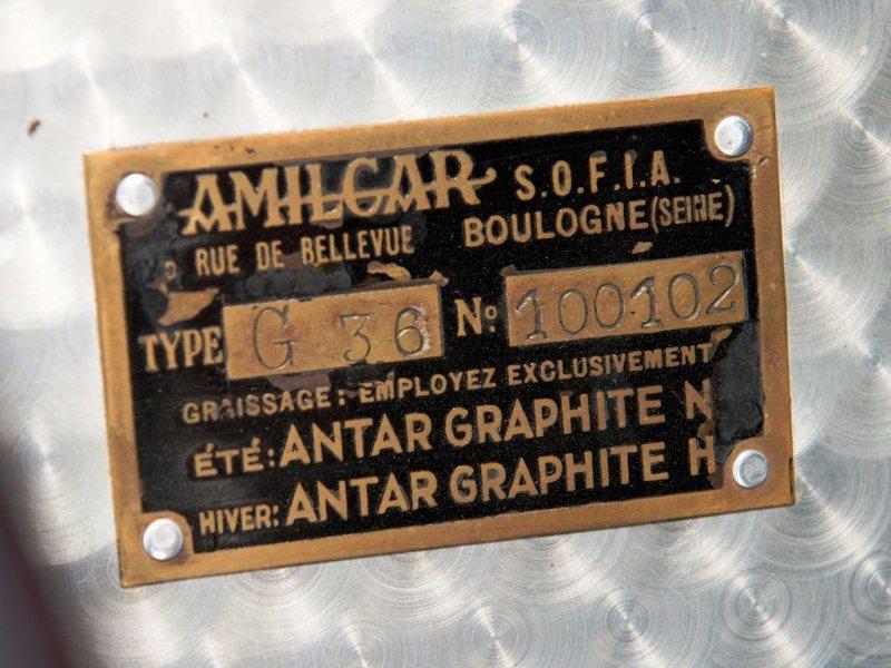 Video Walk-Around + 33 Photos -- 1935 Amilcar G36 Pegasé Boattail Roadster -- RM Auctions Amelia 2014 $467k 21