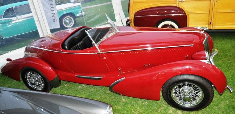 Video Walk-Around + 33 Photos -- 1935 Amilcar G36 Pegasé Boattail Roadster -- RM Auctions Amelia 2014 $467k 33
