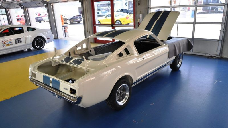 1966 Shelby Mustang GT350 Racecar Awaits Engine Buildout at Charlotte Motor Speedway 2