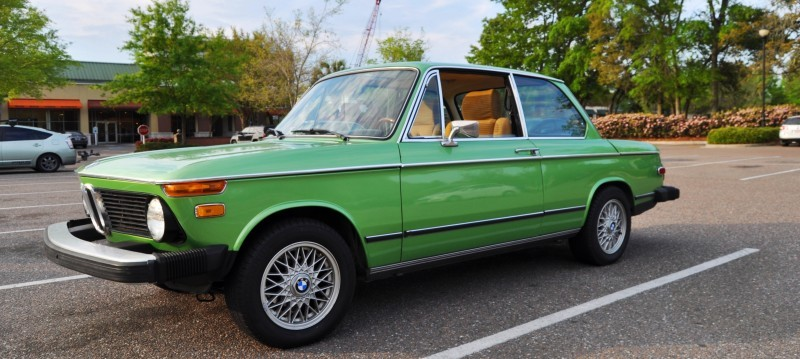 1976 BMW 2002 - Seafoam Green with Flawless Bodywork, Updated Wheels and Comfy New Seats 4