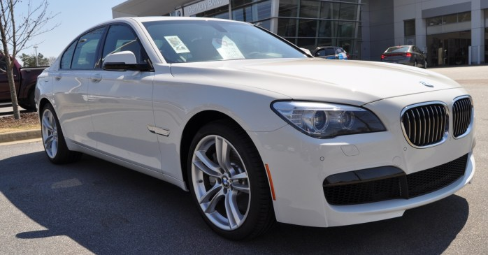 2014 BMW 750Li Definitely Not Beautiful or Focused -- But Less Adrift as SWB 750i with Squared-Off LED Lights Option 13