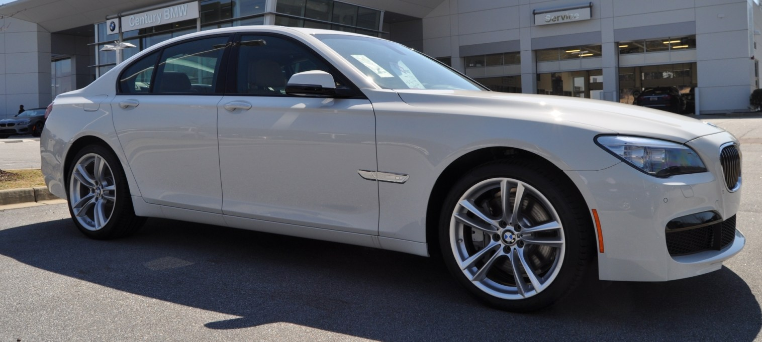 2014 BMW 750Li Definitely Not Beautiful or Focused -- But Less Adrift as SWB 750i with Squared-Off LED Lights Option 14