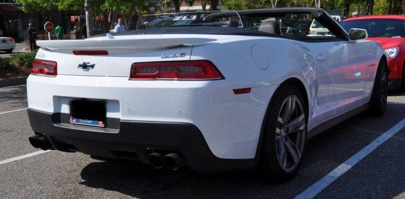 2014 Camaro ZL1 Convertible Blasts Off in Wild Sprint Starts -- 2 In-Car and 1 HD GoPro Hood-mounted Video 11