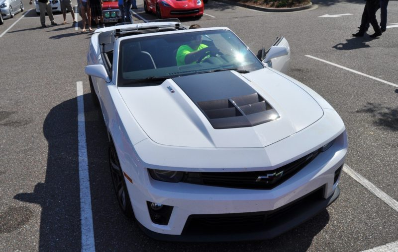 2014 Camaro ZL1 Convertible Blasts Off in Wild Sprint Starts -- 2 In-Car and 1 HD GoPro Hood-mounted Video 16