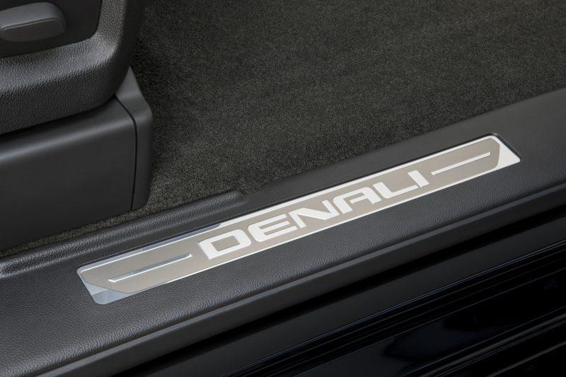 2014 GMC Sierra Denali Unique Script Door Sills