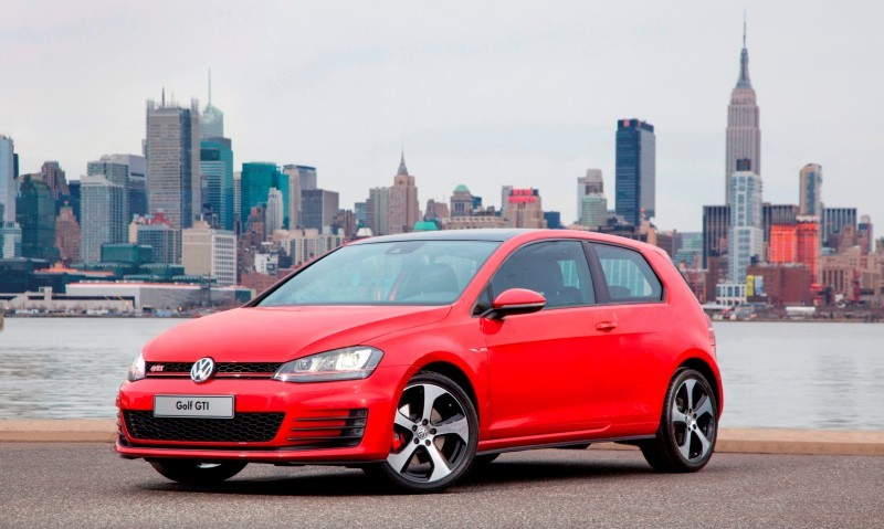 2015 VW Golf TSI 3dr Joins TDI and GTI in Brooklyn en Route to Detroit Show 19