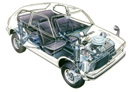 Automotive Artist Showcase -- 3D Mechanical Illustrator Hisashi Saito -- 30 Stunning See-Through Honda Designs 1
