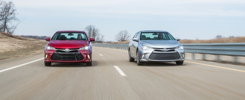 Car-Revs-Daily.com 2015 Toyota Camry Redesign Delivers Greater Chassis Strength, Wider Stance and More LED Style 32
