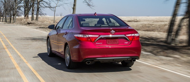 Car-Revs-Daily.com 2015 Toyota Camry Redesign Delivers Greater Chassis Strength, Wider Stance and More LED Style 33