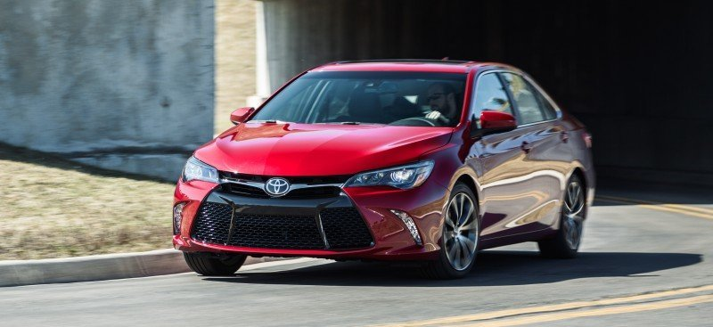 Car-Revs-Daily.com 2015 Toyota Camry Redesign Delivers Greater Chassis Strength, Wider Stance and More LED Style 40