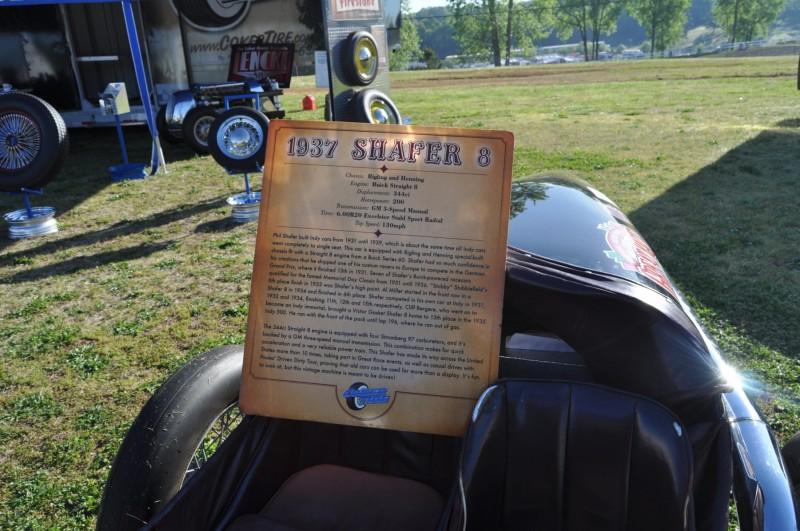 Car-Revs-Daily.com SHAFER 8 Buick 1937 Indy Car 21