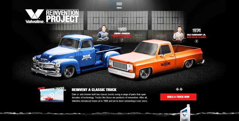 Car-Revs-Daily.com -- Valvoline Reinvention Project Trucks Hendrick Motorsport 1