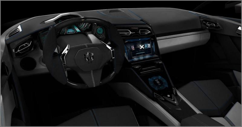 CarRevsDaily Supercars - Best of 2013 - W Motors Lykan HyperSport 8