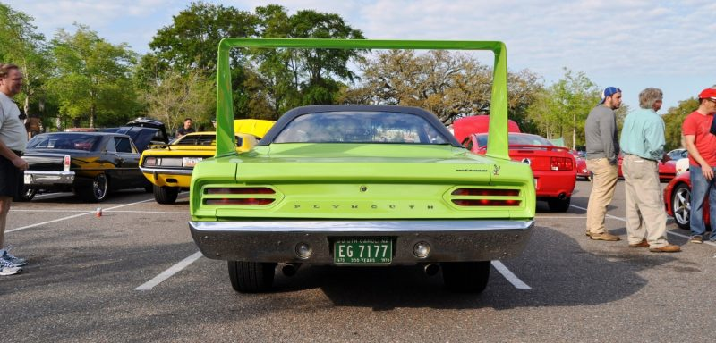 Classic Showcase -- 1970 Plymouth Road Runner Superbird at Charleston Cars Coffee 14