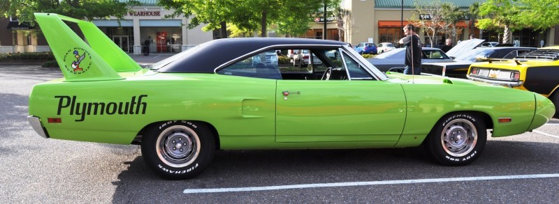 Classic Showcase -- 1970 Plymouth Road Runner Superbird at Charleston Cars Coffee 22