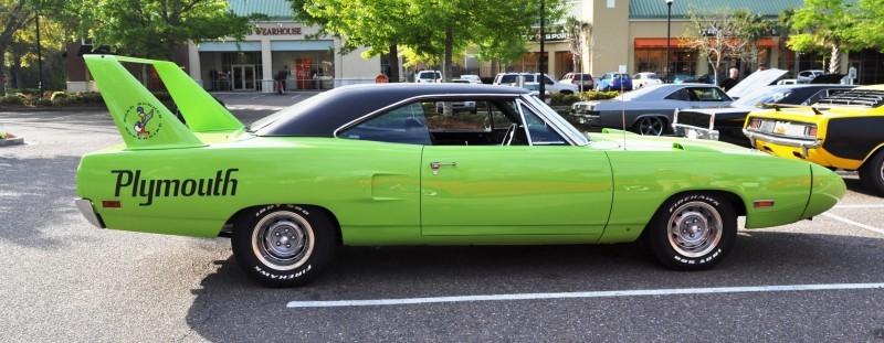 Classic Showcase -- 1970 Plymouth Road Runner Superbird at Charleston Cars Coffee 23