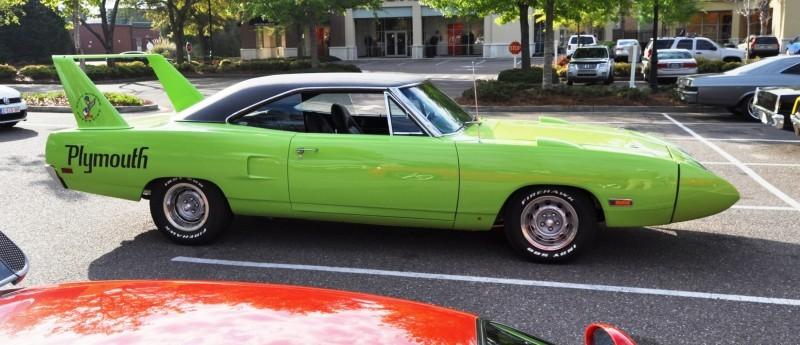 Classic Showcase -- 1970 Plymouth Road Runner Superbird at Charleston Cars Coffee 24