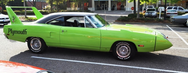 Classic Showcase -- 1970 Plymouth Road Runner Superbird at Charleston Cars Coffee 25