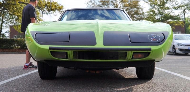 Classic Showcase -- 1970 Plymouth Road Runner Superbird at Charleston Cars Coffee 31