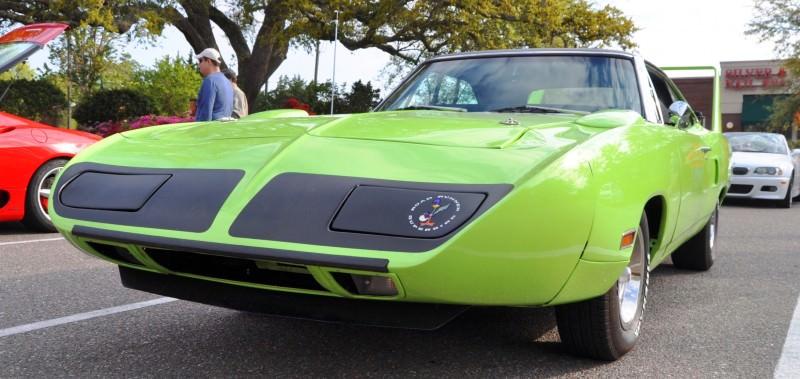 Classic Showcase -- 1970 Plymouth Road Runner Superbird at Charleston Cars Coffee 34