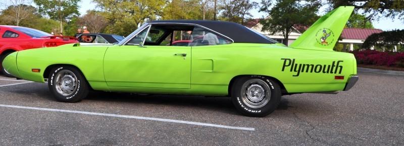 Classic Showcase -- 1970 Plymouth Road Runner Superbird at Charleston Cars Coffee 6