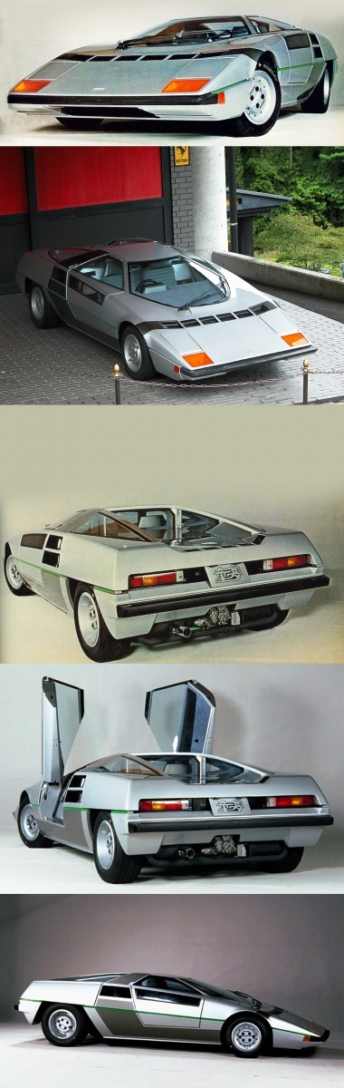 Concept Flashbacks 1978 Nissan DOME Zero and 1987 Nissan MID4 Type II 2