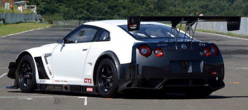 Nissan GT-R GT3 COnfirmed for 2014 Nurbugring 24H Race in June 19