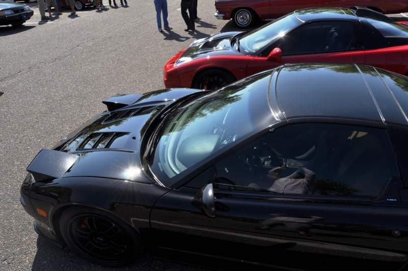 The NSX Effect -- Own One, And You Will Never Sell It -- Black NSX Series I and Red NSX-R Series II 25