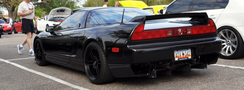 The NSX Effect -- Own One, And You Will Never Sell It -- Black NSX Series I and Red NSX-R Series II 9