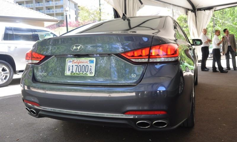 Car-Revs-Daily.com Snaps the 2015 Hyundai Genesis 5.0 V8 21