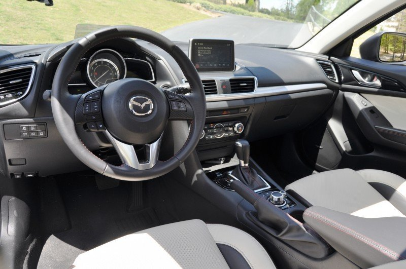 Car-Revs-Daily.com Video Road Test Review - 2014 MAZDA3 is Excellent60