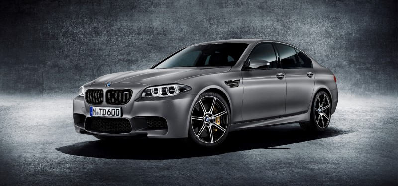 Gone in 3.7s - 30th Anniversary BMW M5 Adds 25 Horsepower, New Steering and New Active M Rear Diff 1