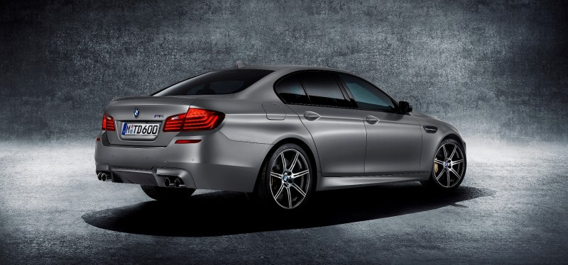 Gone in 3.7s - 30th Anniversary BMW M5 Adds 25 Horsepower, New Steering and New Active M Rear Diff 2