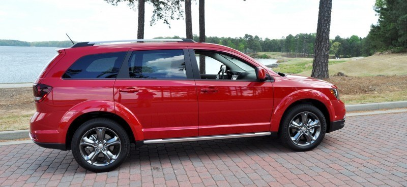 Road Test Review - 2014 Dodge Journey Crossroad - We Would Cross the Road to Avoid 9