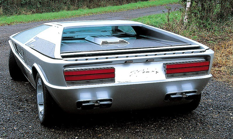 1972 Maserati Boomerang 25