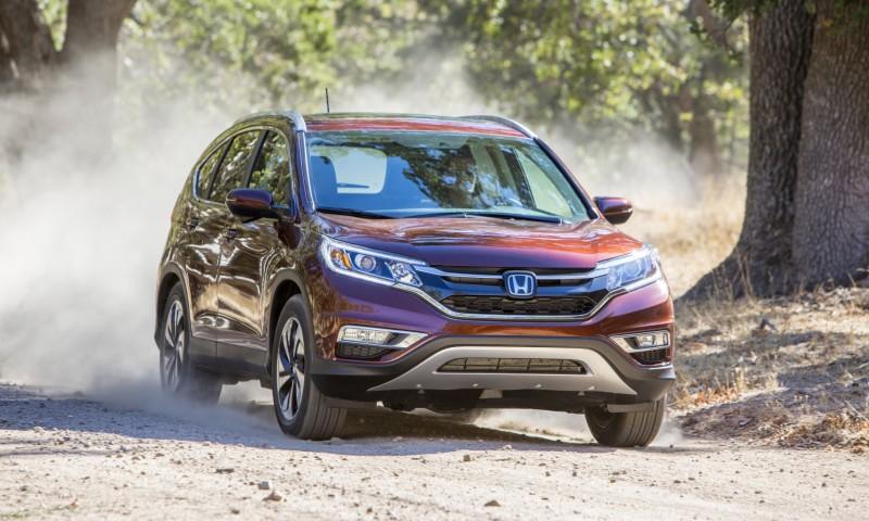 2015 Honda CR-V Revealed With More Torque, More Tech and New Touring Trim 10