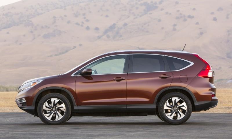 2015 Honda CR-V Revealed With More Torque, More Tech and New Touring Trim 16