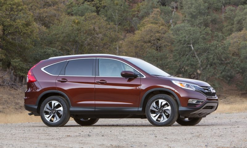 2015 Honda CR-V Revealed With More Torque, More Tech and New Touring Trim 2