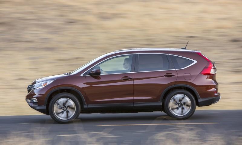2015 Honda CR-V Revealed With More Torque, More Tech and New Touring Trim 22