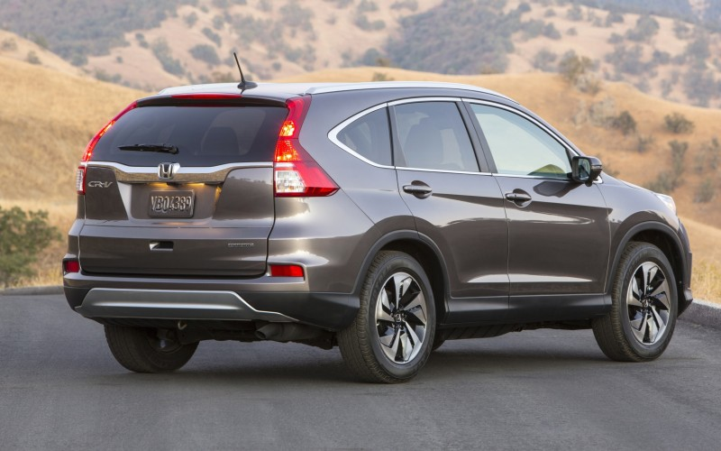 2015 Honda CR-V Revealed With More Torque, More Tech and New Touring Trim 29